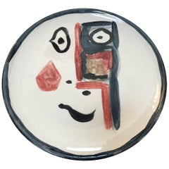 Pablo Picasso Signed Plate