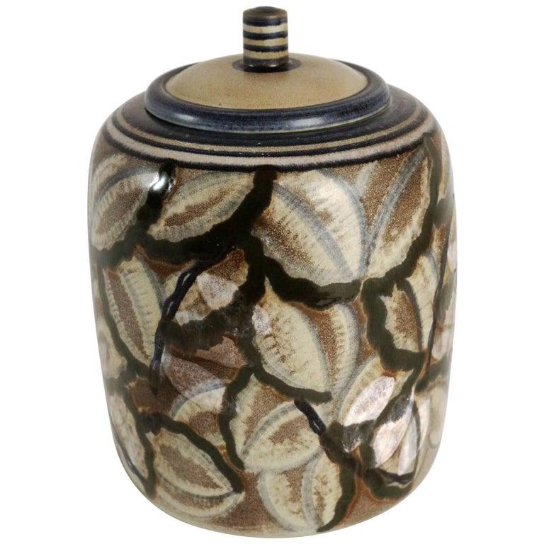 Manufacture De Sèvres, Large Pot, Shape by Gensoli, Design by André Naudy, 1933 For Sale
