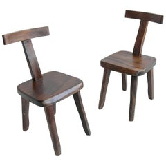 Pair of Chairs by Olavi Hanninen for by Mikko Nupponen, Finland, 1950s