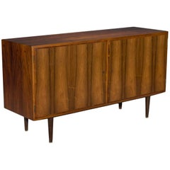 Two-Door Danish Modern Rosewood Sideboard