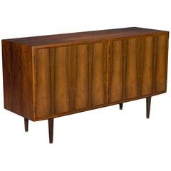 Two-Door Danish Modern Rosewood Sideboard