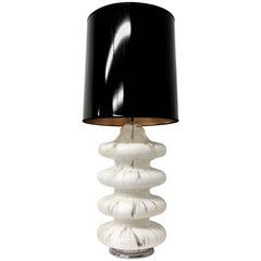 Four-Tier Glass Table Lamp by Carlo Nason for Mazzega