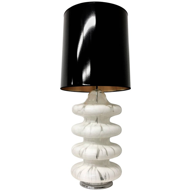 Four-Tier Glass Table Lamp by Carlo Nason for Mazzega For Sale
