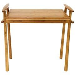 David N. Ebner Bamboo End Table, 2014