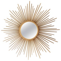 Metal Sunburst Mirrors