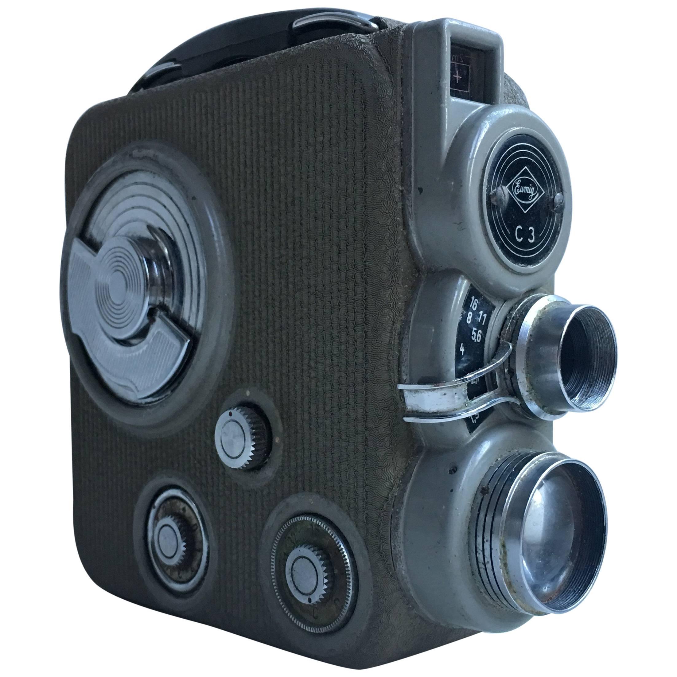 1960 Portable Video Camera Eumig
