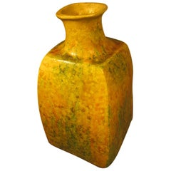 Mid-Century Modern Drip Glaze Vase by Marcello Fantoni for Raymor