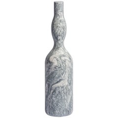Omaggio a Morandi Bottle Sculpture in Cipollino Marble by Elisa Ossino