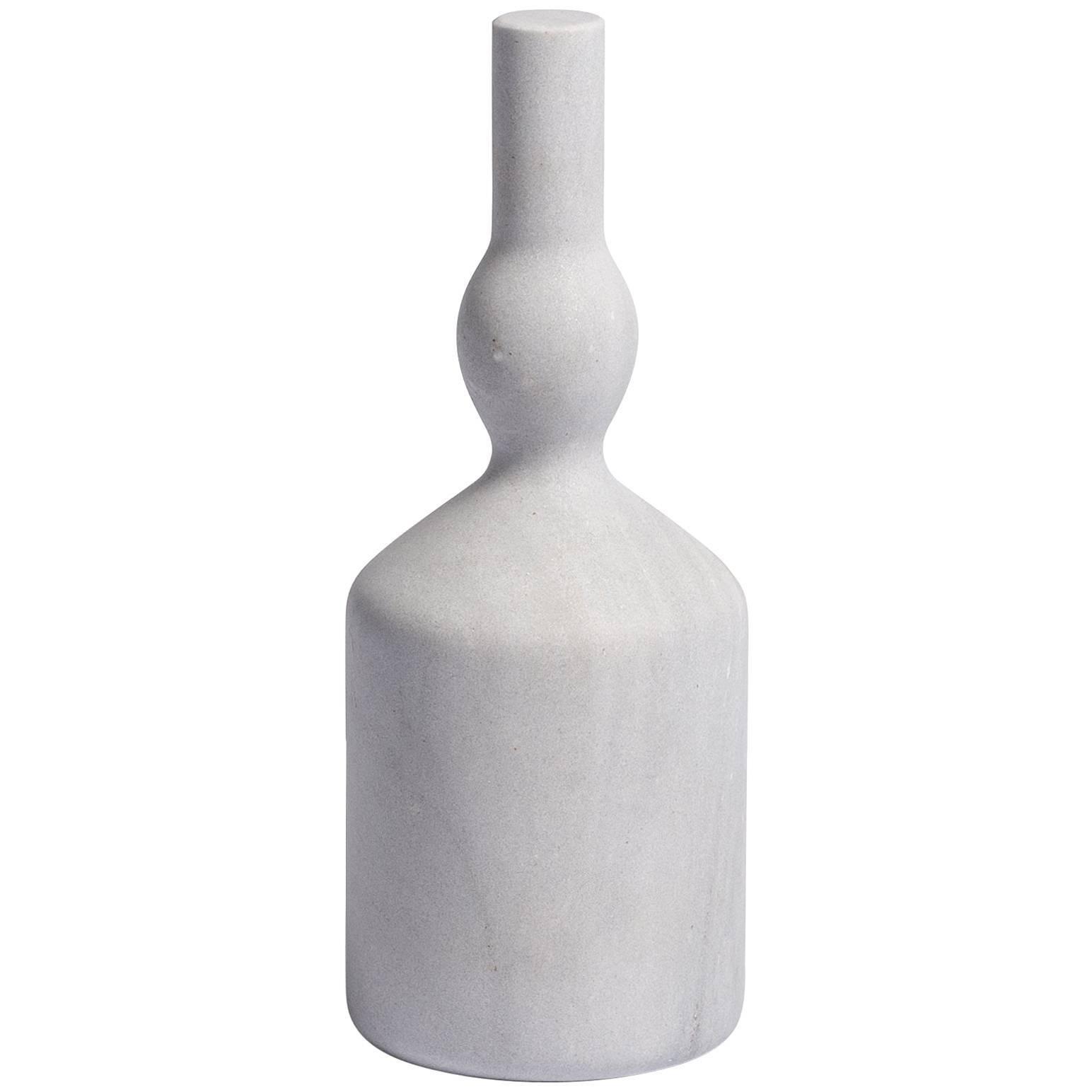 Salvatori Omaggio a Morandi Bottle Sculpture Palissandro Bluette by Elisa Ossino