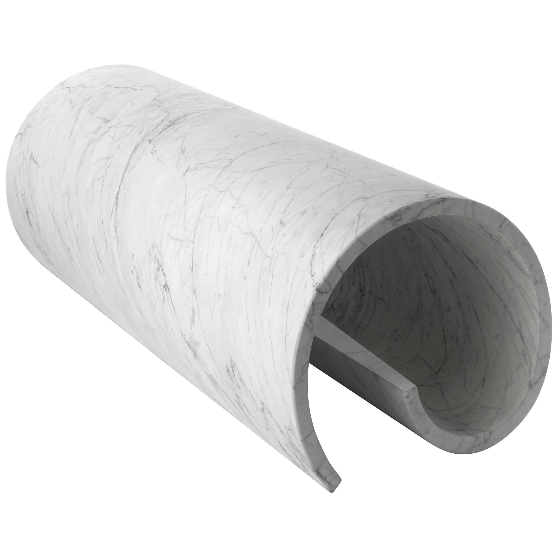 Salvatori Girella Special Edition Sculpture & Bench Bianco Carrara by Ron Gilad