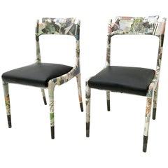 "Pair of Chairs ""La Lettura"" by Carmelo La Gaipa, Italy, 2017"