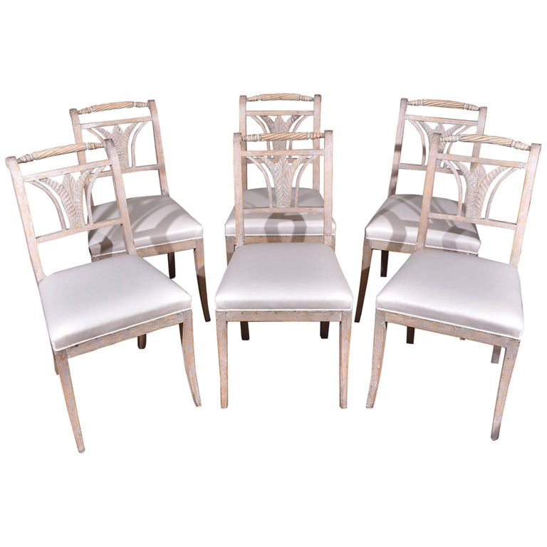 Swedish Dining Chairs For Sale