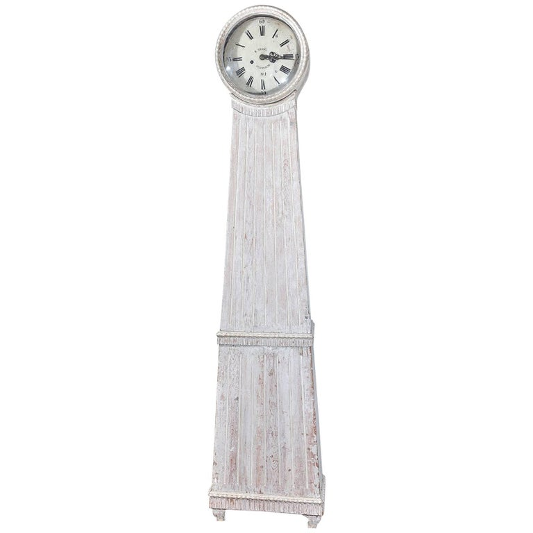 Gustavian Tall Case Clock For Sale