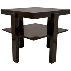 Jugendstil 1900 Square Side Table
