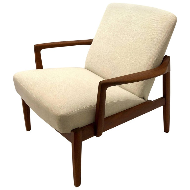 Tove And Edvard Kindt Larsen Easy Chair Model Fd125 In
