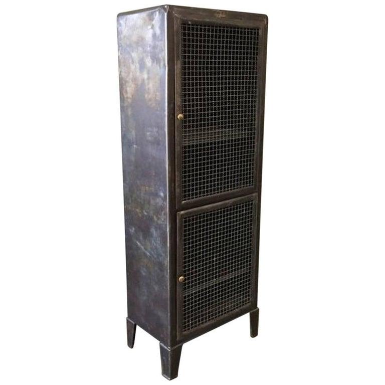 Metal Industrial Doctors Cabinet For Sale
