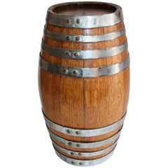 19th Century Tabletop Barrel or Oak Miniature Hires Rootbeer Style