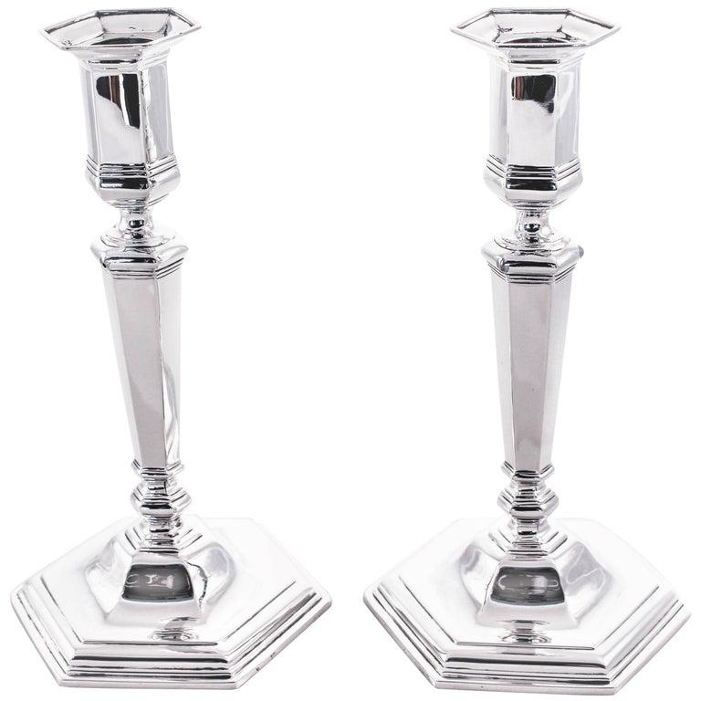 Tiffany & Co. Federal Candlesticks