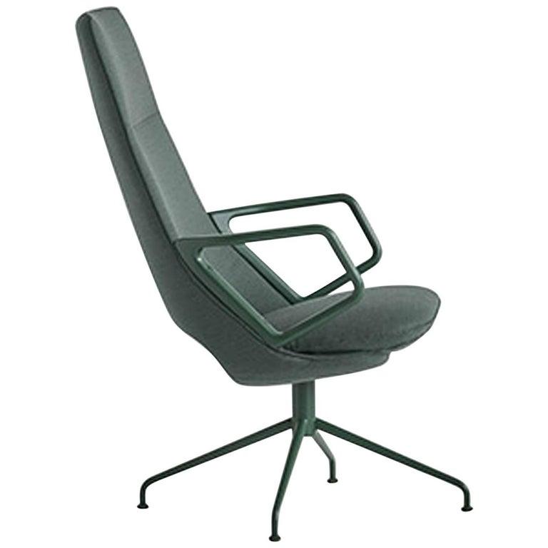 Zuma High Back Armchair by Patrick Norguet