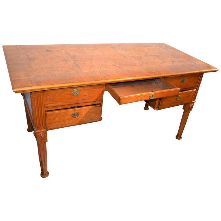 Danish 18th Century Writing Desk By Royal Architect C. F. Harsdorff For Sale