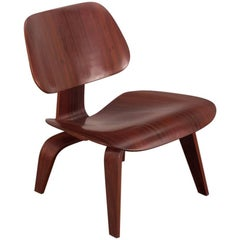 Rare Eames Pre-Production Rosewood LCW