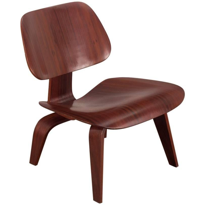rare eames rosewood lcw