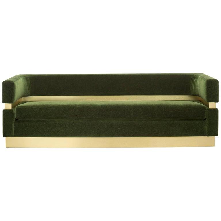 Susan Hornbeak-Ortiz Cardin sofa, new, offered by Shine by S.H.O