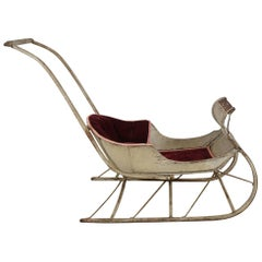 19th Century hand made American Sleigh for children