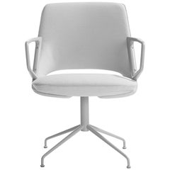 Light and Ergonomic Zuma Low Back Chair by Patric Norguet
