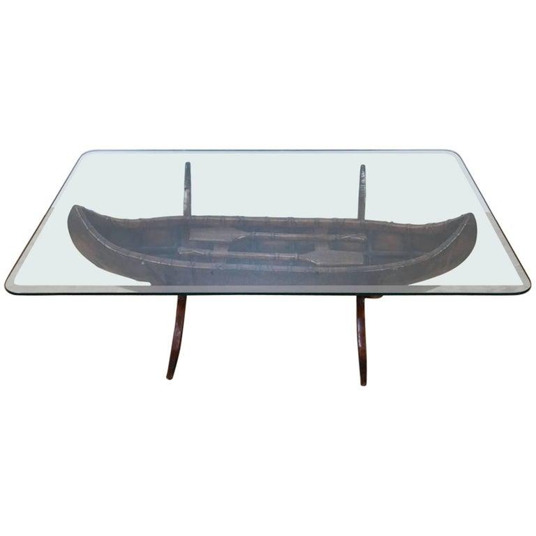 Oriental Oval Coffee Table