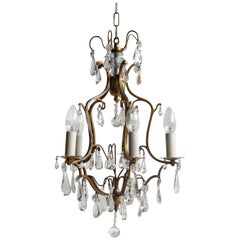 Early 1900s Birdcage Chandelier