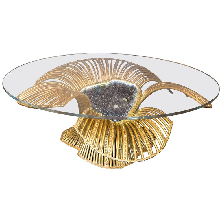 Sea Anemone, Sculpture-Table by Richard Faure