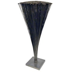 Harry Bertoia Spray Sculpture with Rare Flat Rounded Ends, USA 1960s