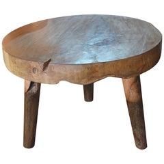 Andrianna Shamaris Midcentury Style Teak Wood Coffee Table