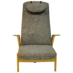 Rock 'n Rest Lounge Chair from 1960`s by Rastad & Relling, Norway