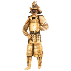 Gold Samurai Armor of a Follower of Date Masamune