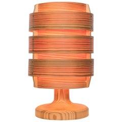 1960s Hans-Agne Jakobsson Wood Table Lamp for AB Ellysett