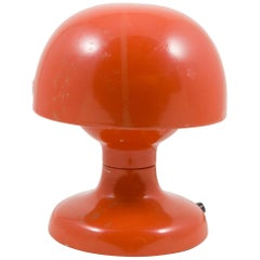 "Tobia Scarpa Orange ""Jucker"" Table Lamp for Flos, Italy, 1960s"