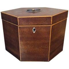 19th Century Unique Shaped Box