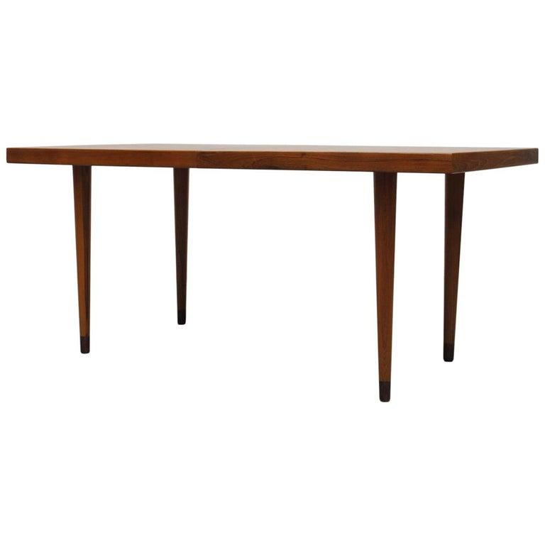 Midcentury Nana Ditzel Danish Teak Dining Table For Sale