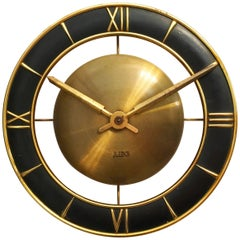 Elegant German AEG Electric Wall Clock