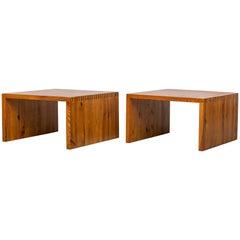 Ate Van Apeldoorn Pine Wood Side or Coffee Tables