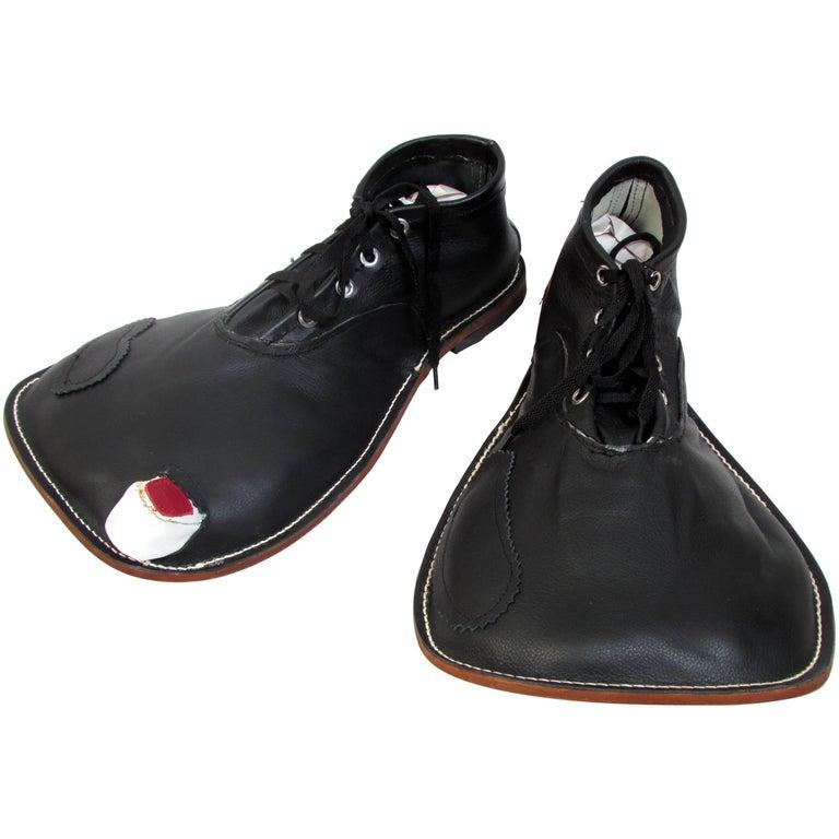 Vintage Hobo Clown Shoes by Wayne Bennett