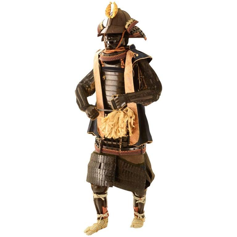 Armor Of A Nabeshima Clan Samurai By Myochin Munesuke For