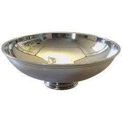 Georg Jensen Sterling Silver Sigvard Bernadotte Bowl 990A