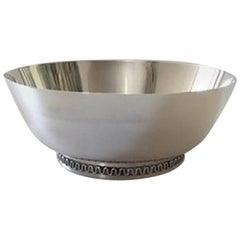 Georg Jensen Sterling Silver Bowl by Sigvard Bernadotte #904
