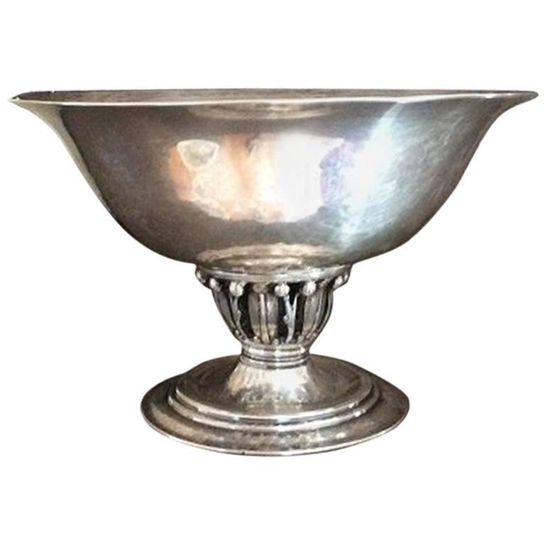 georg jensen sterling silver bowl 180 for sale at 1stdibs. Black Bedroom Furniture Sets. Home Design Ideas