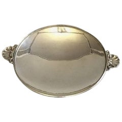 Georg Jensen Sterling Silver Bowl or Tray, #355E