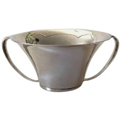 Georg Jensen Sterling Silver Bowl with Two handles #753
