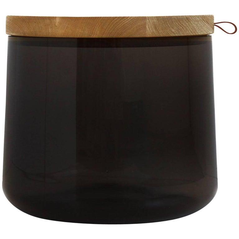 Tea Smoked Glass Coffee Table For Sale At 1stdibs